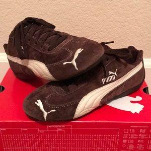 Brown Puma shoes